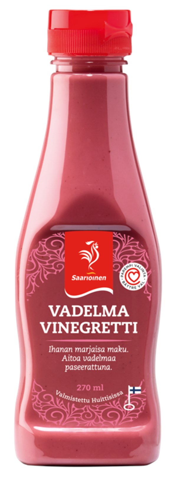 Vadelmavinegretti 270 ml