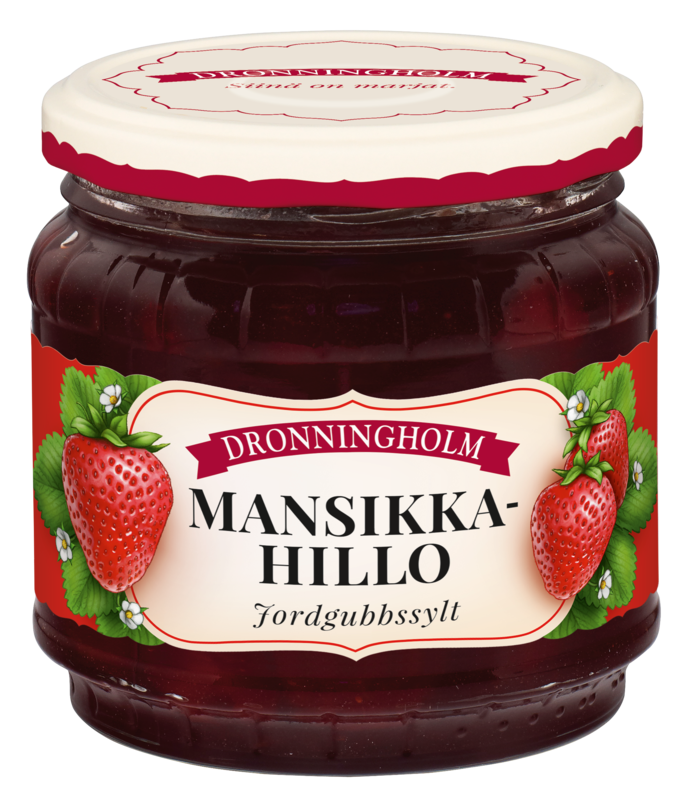 Dronningholm Mansikkahillo 440 g