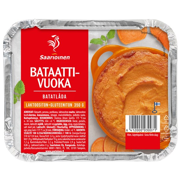 Cottage Pie bataatista