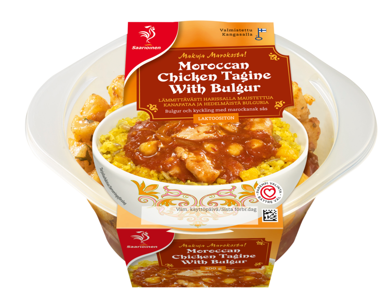 Moroccan Chicken Tagine with Bulgur 300 g
