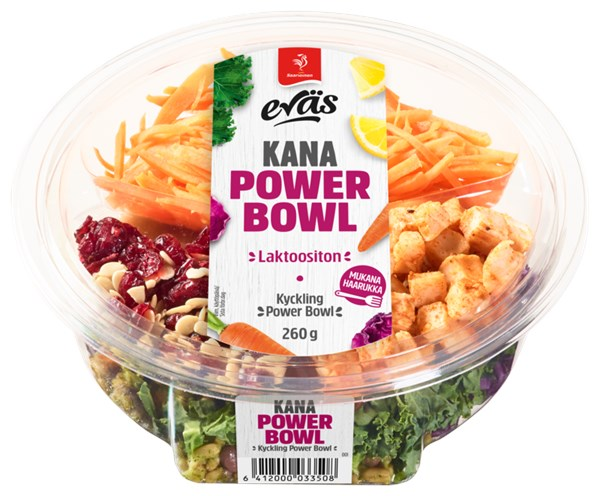Eväs Power Bowl Kana 260 g