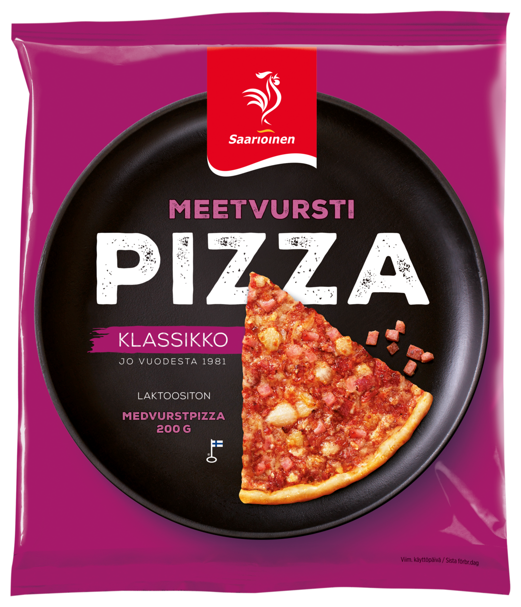 Meetvurstipizza 200 g