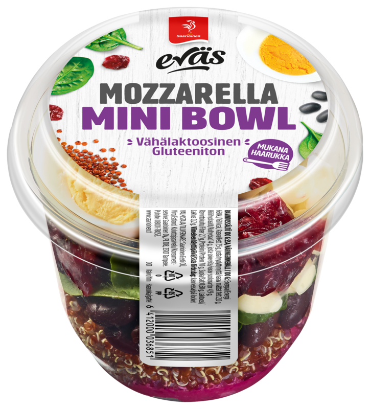 Eväs Mini Bowl Mozzarella 160 g