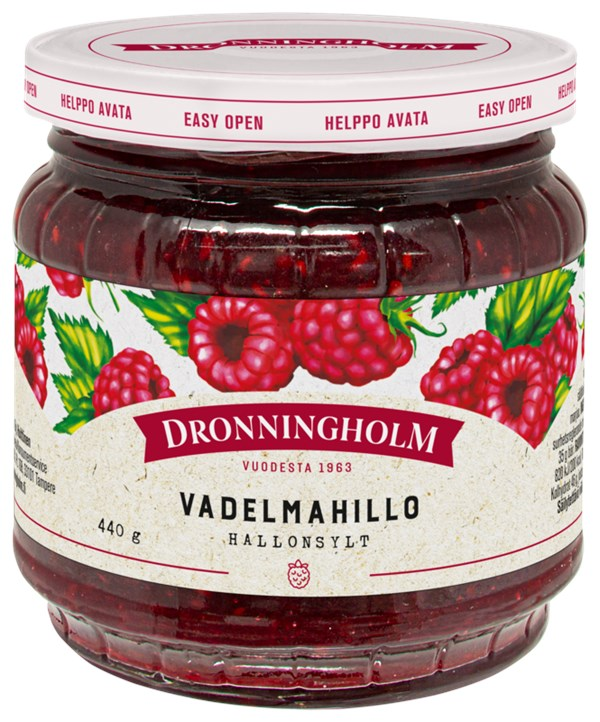 Dronningholm Vadelmahillo 440 g