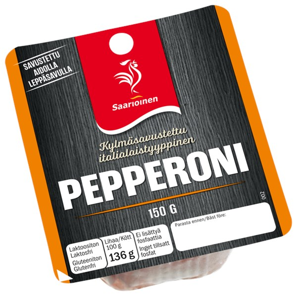 Tortano Pepperonilla ja kermajuustolla