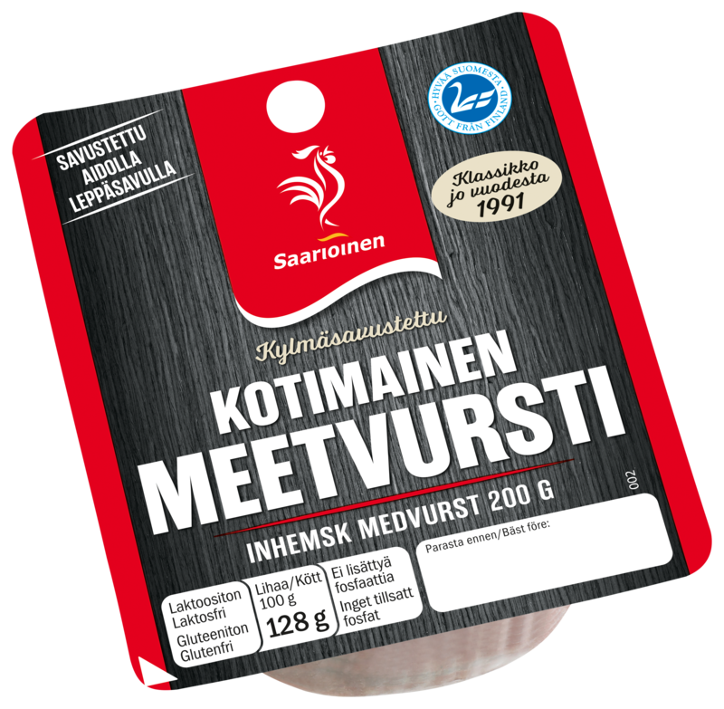 Kotimainen meetvursti 200 g