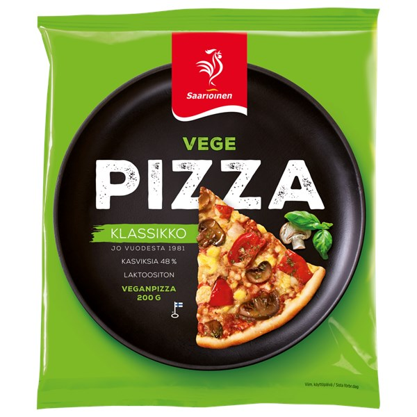 Vegepizza 200 g